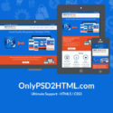 Only PSD 2 HTML