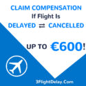 Claim up to 600 EUR flight delay compensation