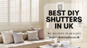 We Manufacture Shutters.