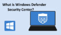 How to Uninstall Windows Defender Windows 10?